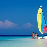 Navigation sur un catamaran
